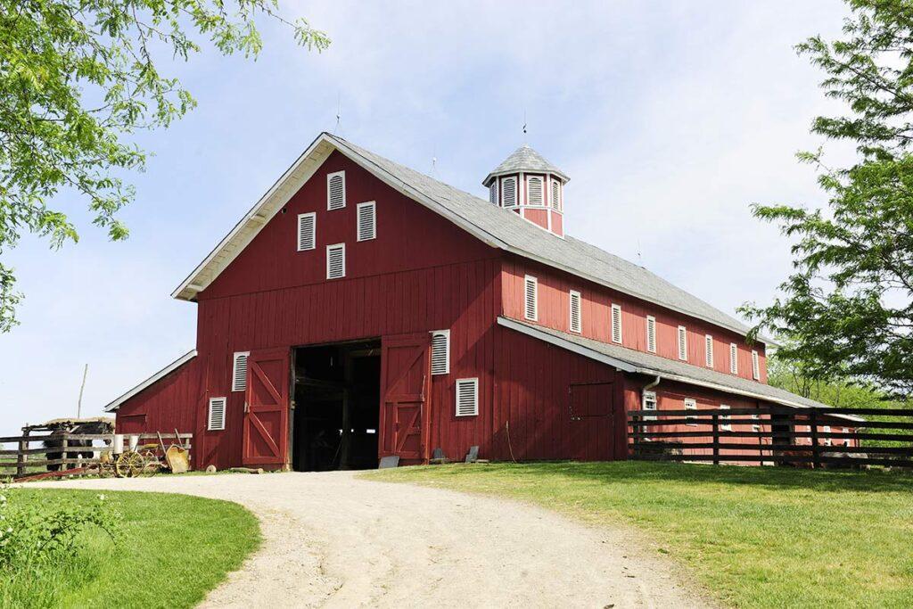 Farm in New England